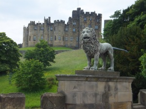 Alnwick Castle from the Lion Gate