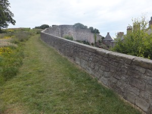 Berwick-upon-Tweed's Tudor city walls