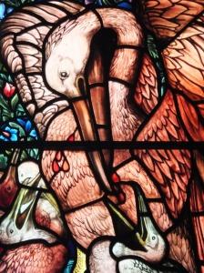 The Pelican in her Piety, St Martin's Church Brampton