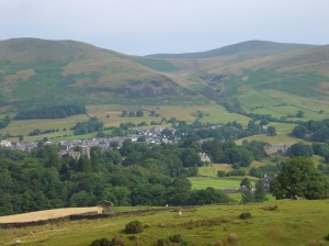 Kirkby Lonsdale looking towards High Casterton