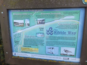 Ribble Way sign