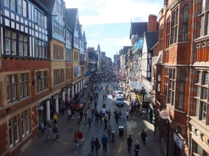 Chester from the walls