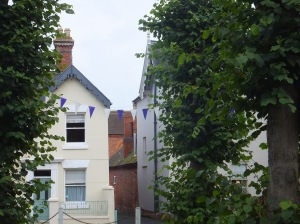 Bunting in Ludlow