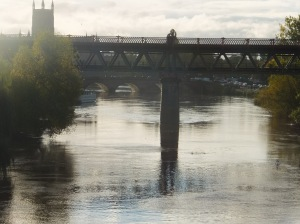 The Severn at Worcester