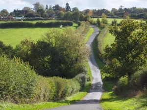 Winding English Road