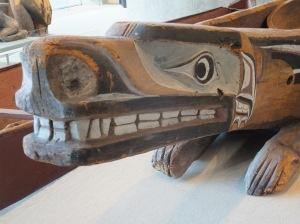 Coastal Potlatch dish, Museum of Anthropology